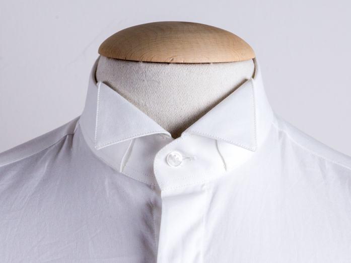 Wingtip collar shirt
