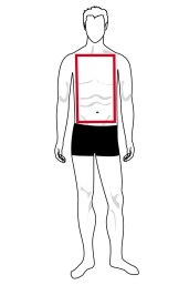 The shape of the rectangle body