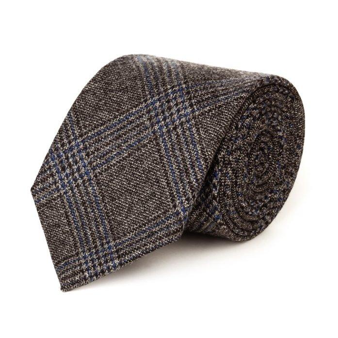 Cravatta fantasia Principe di Galles