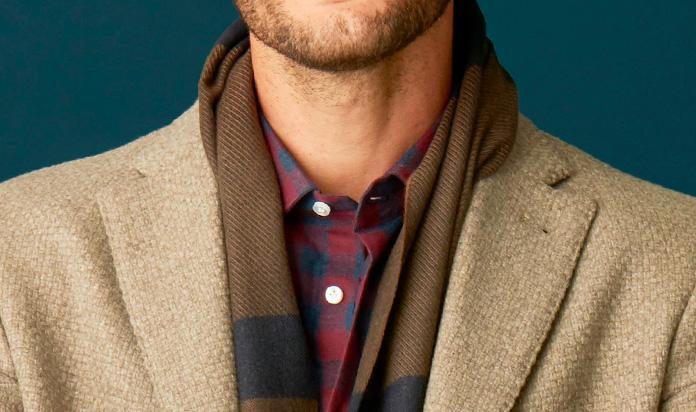 c87c4e8f0d34 Come indossare la sciarpa da uomo con stile