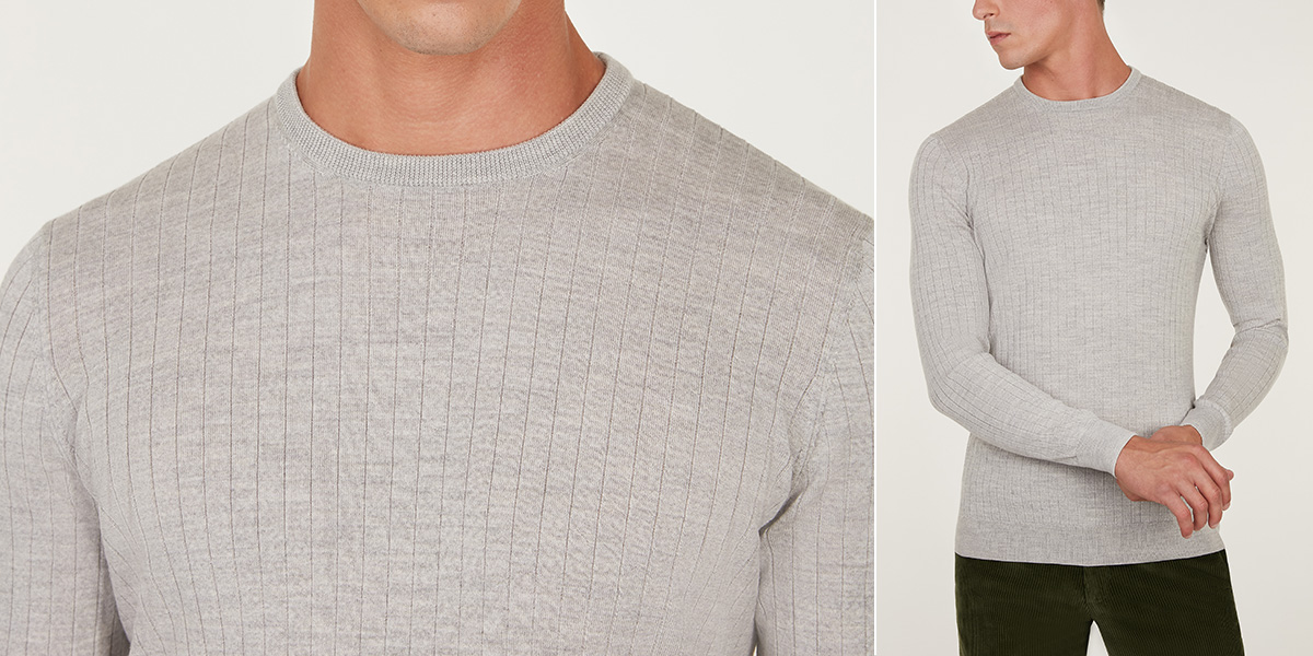 Beloved Mens Business Slim Fit Knitted Sweater Casual V-Neck Pullover Sweater