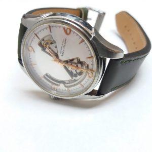 Bracelet de montre Sophie Lanini Cuir maroquinerie cordonnerie gainerie d'art