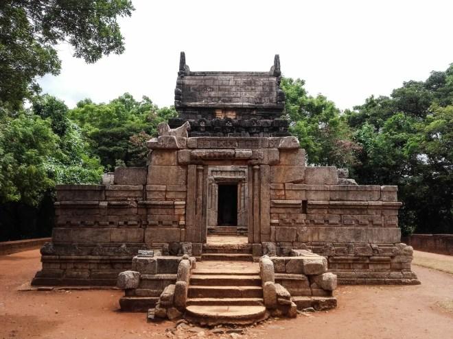 Nalanda Gedige - Front View