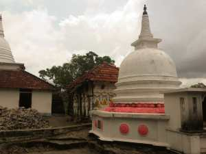 Stupa at the Temple
