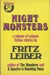 Night Monsters - Gollancz HB