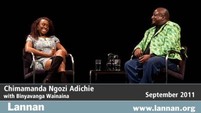 Chimamanda Ngozi Adichie in conversation with Binyavanga Wainaina