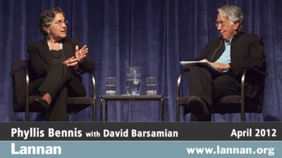 Phyllis Bennis with David Barsamian