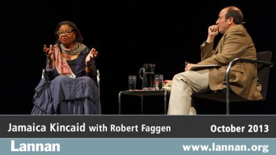 Jamaica Kincaid with Robert Faggen
