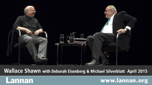 Wallace Shawn with Michael Silverblatt