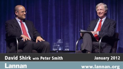 David Shirk in conversation with Peter Smith