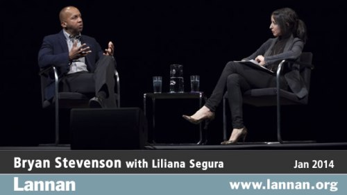 Bryan Stevenson with Liliana Segura