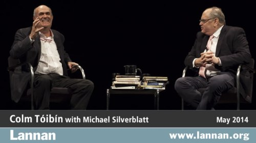 Colm Tóibín with Michael Silverblatt