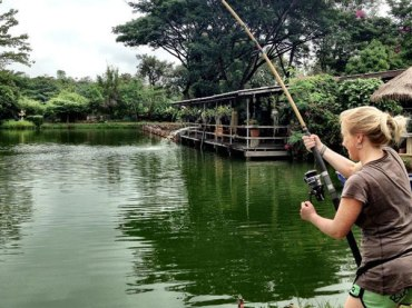 Fishing Sport, Bosang Fishing park (Chiang Mai)
