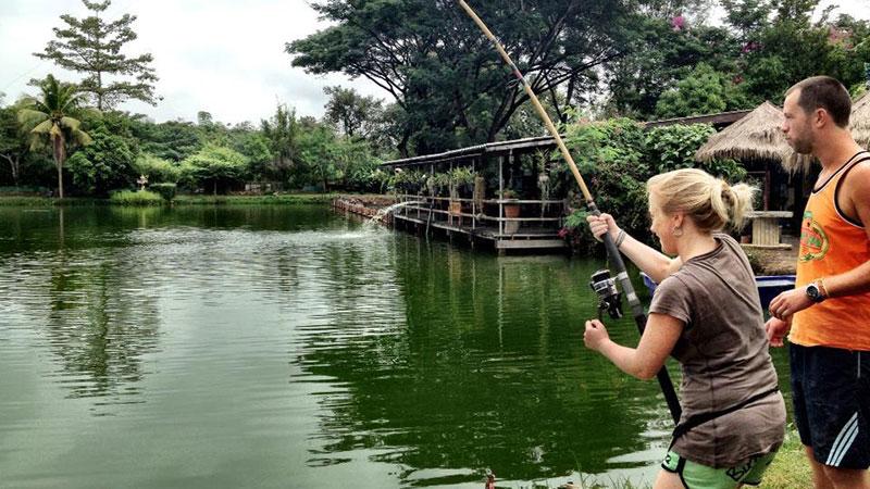 Fishing Sport, Bosang Fishing park (Chiang Mai)