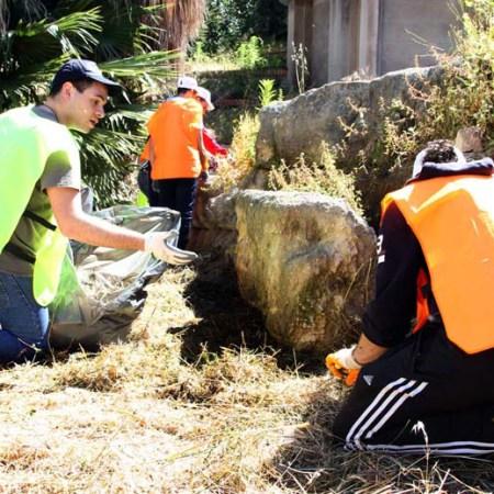 Domenica 23 Aprile i volontari all'Anfiteatro romano di Siracusa