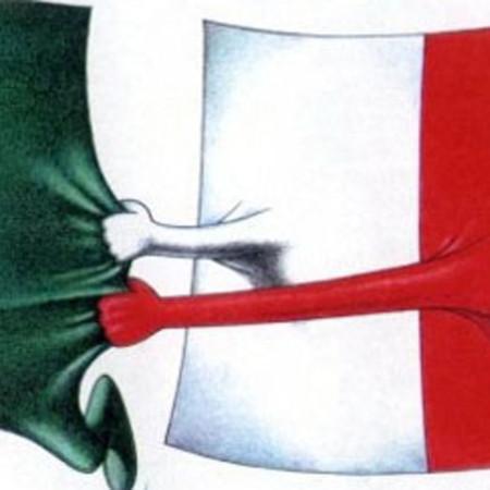 Il tricolore che divide