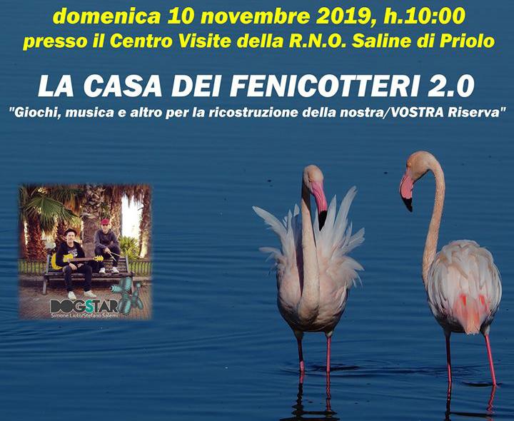 """Saline di Priolo: Domenica 10 """"La Casa dei Fenicotteri"""""""