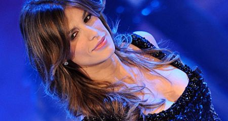 Elisabetta Canalis Sanremo 2011 foto