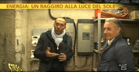 Massimo Burzi Striscia La Notizia Canale5 Foto