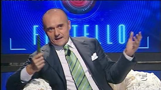 Direttore Chi Alfonso Signorini critica Grande Fratello Canale5 Foto