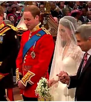 kate e william all'altare