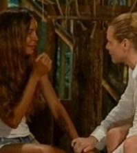 Simona Ventura e Nina Moric sull'isola