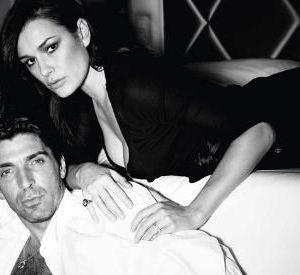 Foto della modella Alena Seredova presto sposa del portiere Gigi Buffon