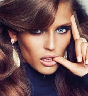 Foto della top model Bianca Balti nuova testimonial di gioielli
