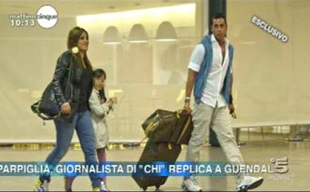 Remo e Guendalina Mattino Cinque GF11 Foto