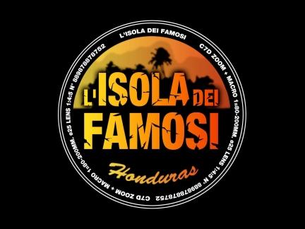 Isola dei famosi Logo RaiDue Simona Ventura