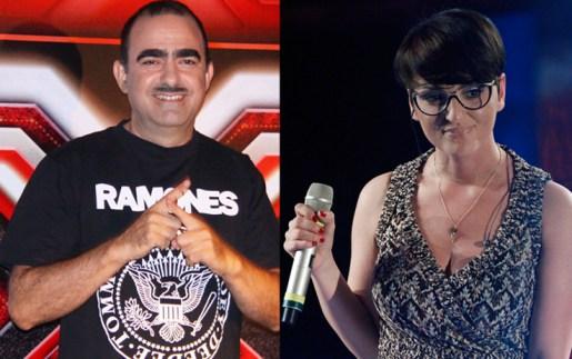 Elio e Arisa X Factor Sky Foto