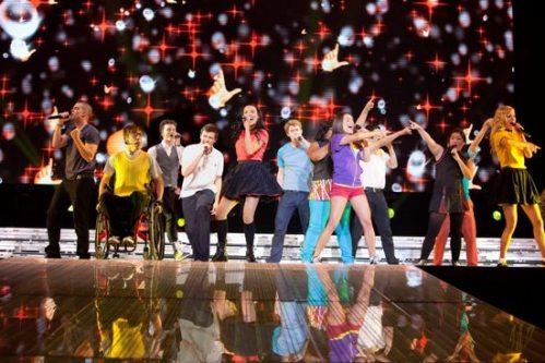 Glee Cast Live 3D Concert Foto