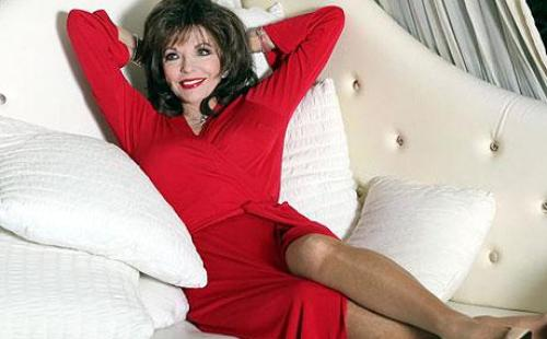 Joan Collins sexy Foto
