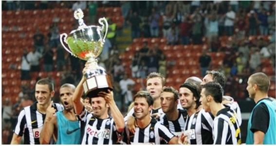 Del Piero Juventus Trofeo Berlusconi Foto