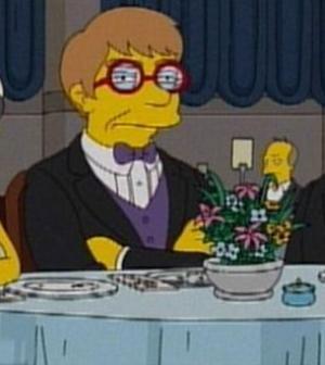 Foto di Lady Gaga protagonista dei Simpson