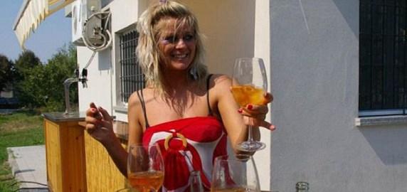 Sexy barista GF Foto