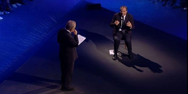 Michele Santoro e Antonio Di Pietro