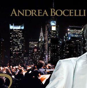 il tenore andrea bocelli live da new york