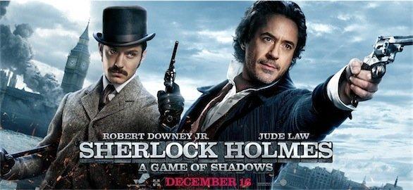 locandina del film Sherlock Holmes: gioco di ombre