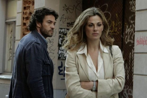 Vanessa Incontrada e Alessio Boni stasera ne I cerchi nell'acqua