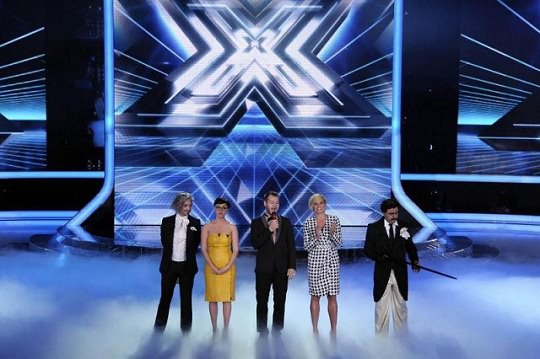 I quattro giudici di X Factor 5 foto