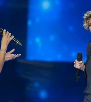 Emma MArrone e Alessandra amoroso annunciano il duetto