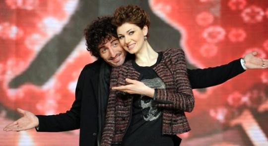 La coppia Claudia Andreatti con Samuel Peron