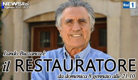 Lando Buzzanca Il Restauratore Rai1 Logo