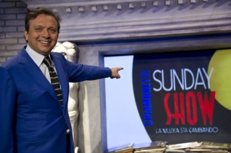 Chiambretti Sunday Show diretta