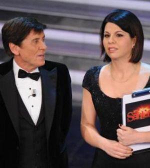 Geppi Cucciari e Gianni Morandi