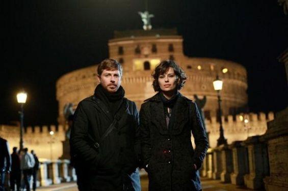 Gli attori Claudio Gioè e Claudia Pandolfi