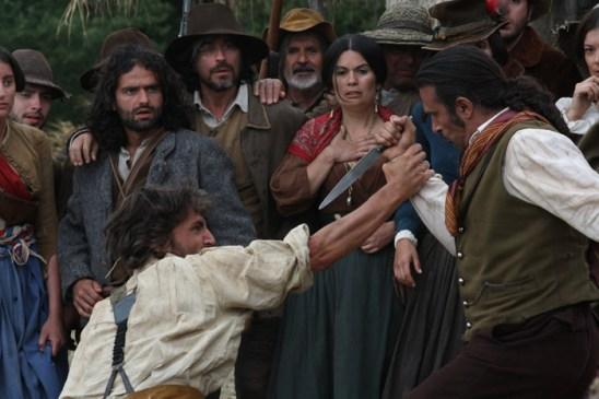 scena della miniserie il generale dei briganti