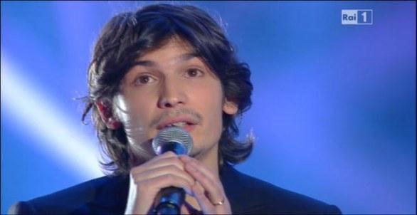 Foto di Pierdavide Carone a Sanremo 2012