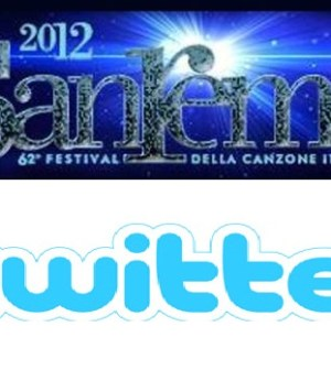 Logo Sanremo 2012 e Twitter